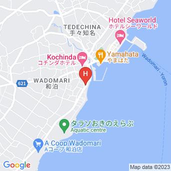 ビジネスホテルうぐら浜の地図