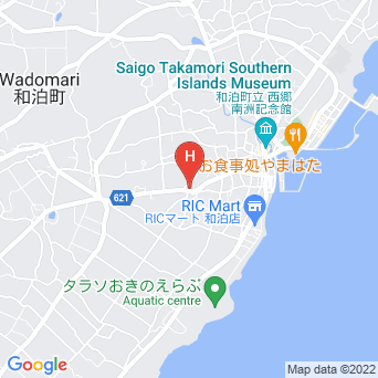 民宿沖田荘の地図
