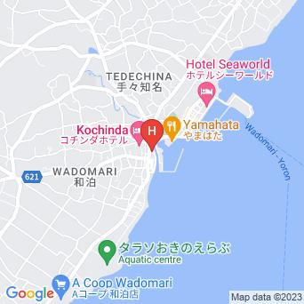 沖えらぶシーサイドホテル/沖永良部シーサイドホテルの地図
