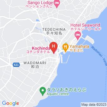 観光ホテル東の地図