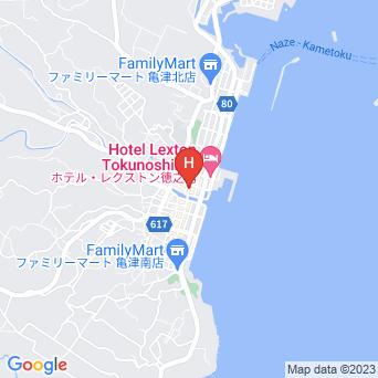 ホテルニューにしだの地図