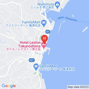 ホテルグランドオーシャンリゾートの地図