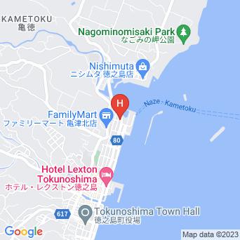 大船旅館の地図