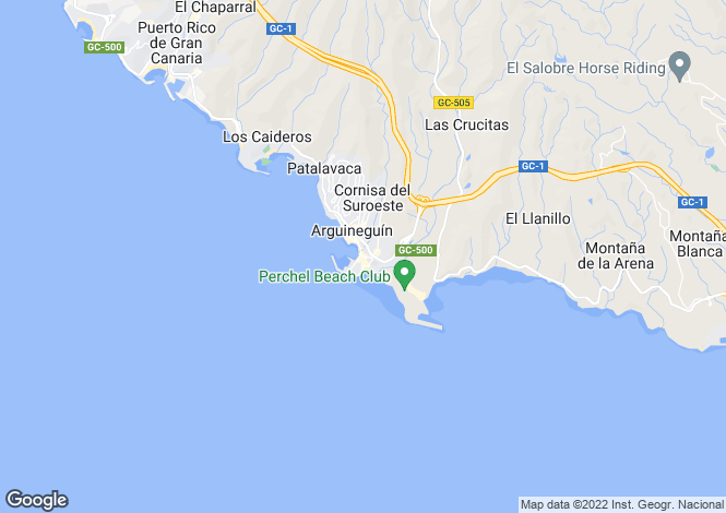 Map for Gran Canaria, Arguineguin , Spain