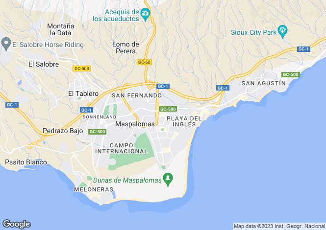 Map for Maspalomas, Gran Canaria