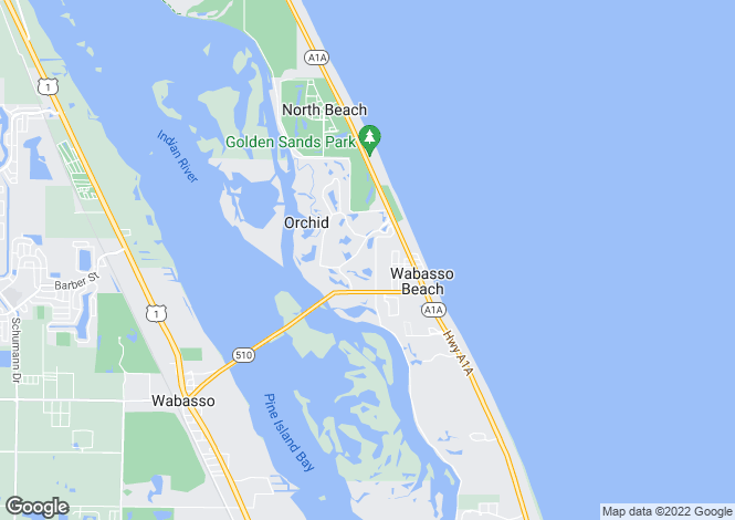 Map for Florida