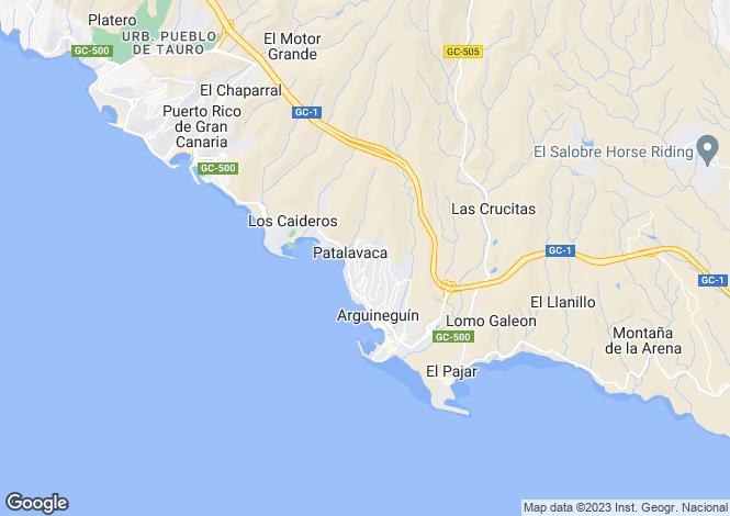 Map for Arguineguin, Gran Canaria, Canary Islands
