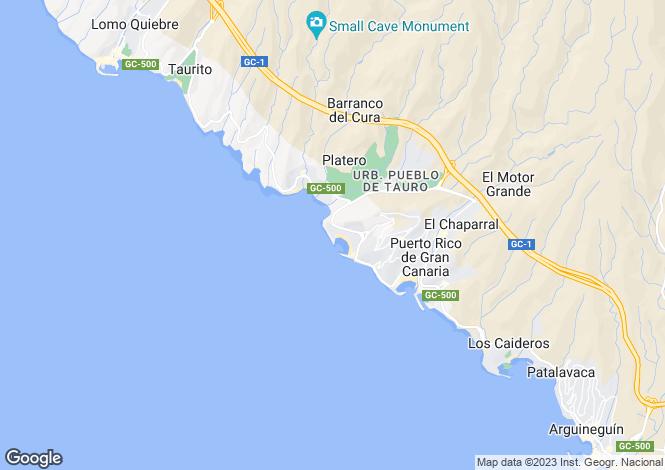 Map for Canary Islands, Gran Canaria, Mogan