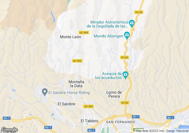 Map for Maspalomas, Gran Canaria, Canary Islands