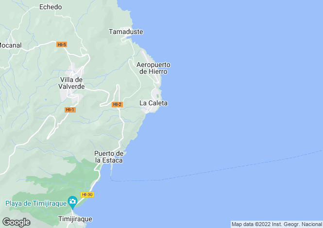 Map for , La Caleta, Tenerife, Spain