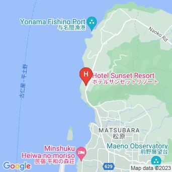 ホテルサンセットリゾート徳之島の地図