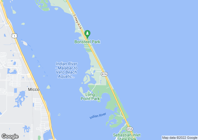Map for USA - Florida