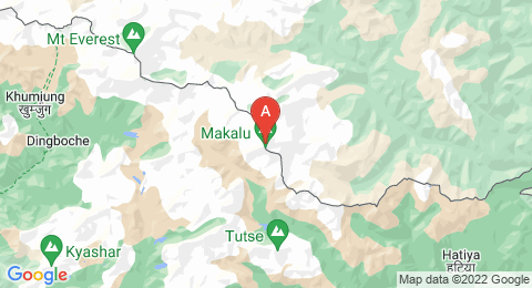 map of Makalu (China)