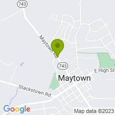 Staticmap?center=2760+Maytown+Rd.%0D%0AMaytown%2C+PA+17550&zoom=14&size=230x230&key=AIzaSyAeTspGNxF9omrAnDm7RMuAOzLtrgwleEY&markers=color:green|2760+Maytown+Rd.%0D%0AMaytown%2C+PA+17550&sensor=false