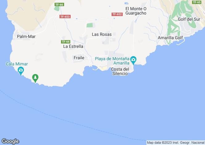Map for Private, Las Galletas, , Spain