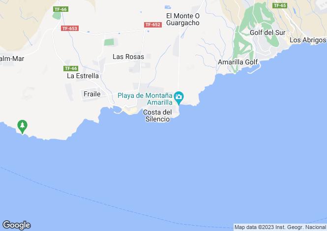 Map for Canary Islands, Tenerife, Arona