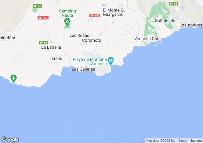 Map for Alborada, Costa Del Silencio, Tenerife, Spain