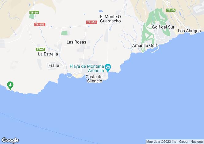 Map for Costa del Silencio, Tenerife, Spain