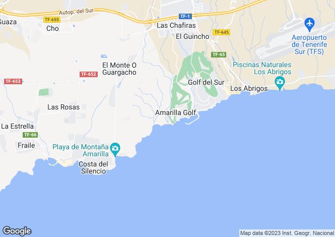 Map for Ocean Ridge, Amarilla Golf, Tenerife, Spain