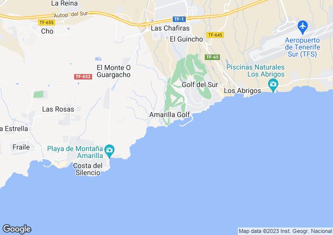 Map for La Quinta, Amarilla Golf, Tenerife, Spain