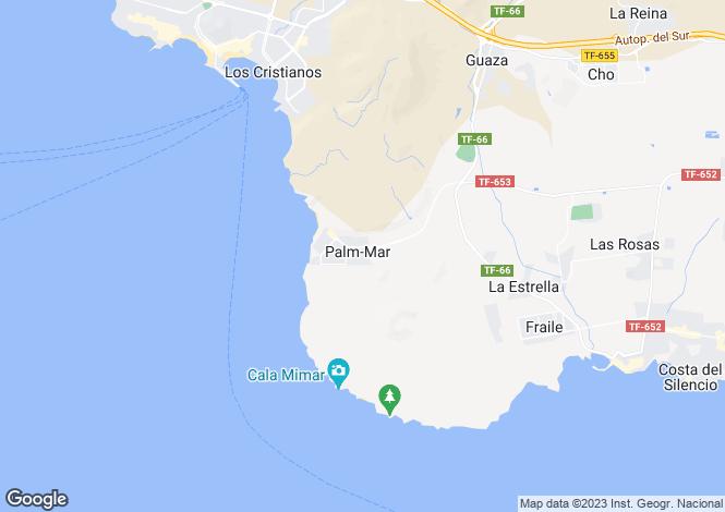 Map for Club de Mar, Palm-Mar, Tenerife, Spain