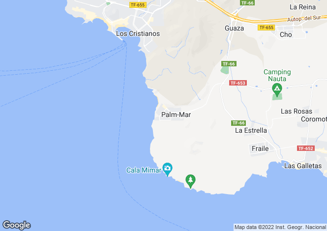 Map for Palm-Mar, Tenerife, Spain