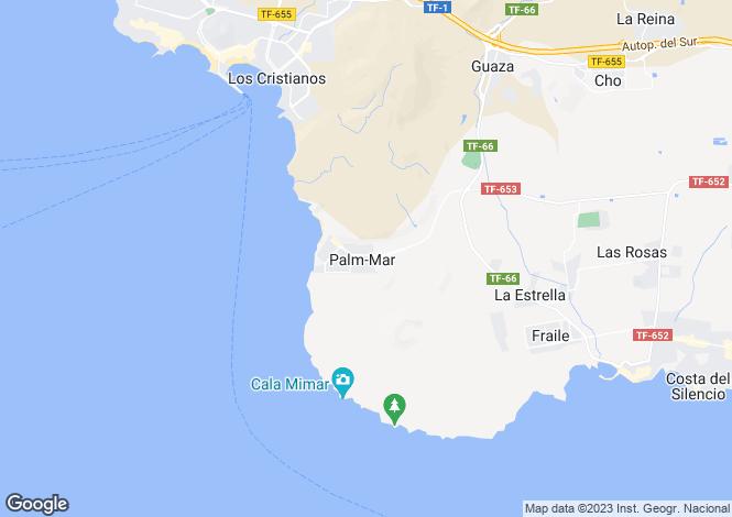 Map for Los Balandros, Palm-Mar, Tenerife, Spain