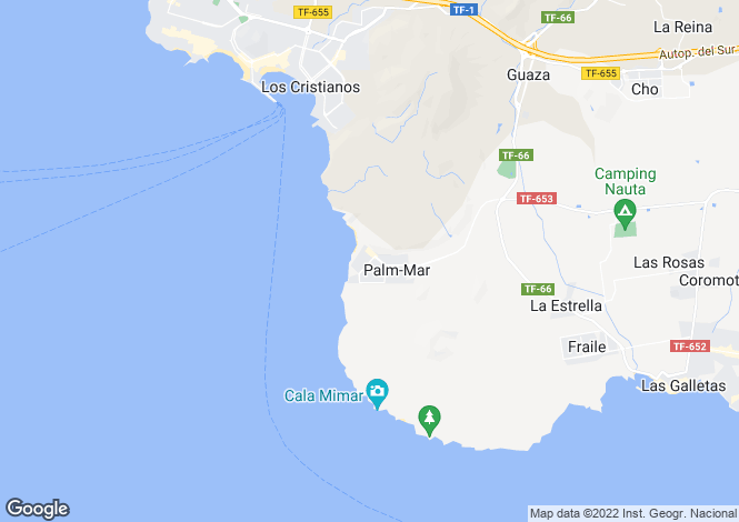 Map for Palm Mar, Tenerife, Spain