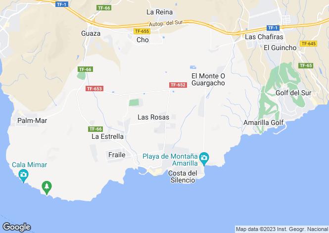 Map for Las Rosas, Tenerife, Spain