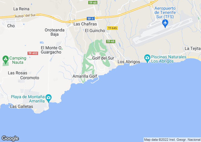 Map for Duquesa del Mar, Golf Del Sur, Tenerife, Spain