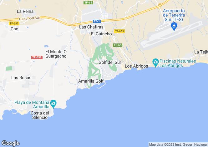 Map for Parque Albatros, Golf Del Sur, Tenerife, Spain