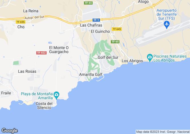 Map for Amarilla Golf, Tenerife, ES