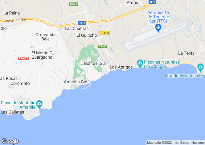 Map for El Náutico, Golf Del Sur, Tenerife, Spain