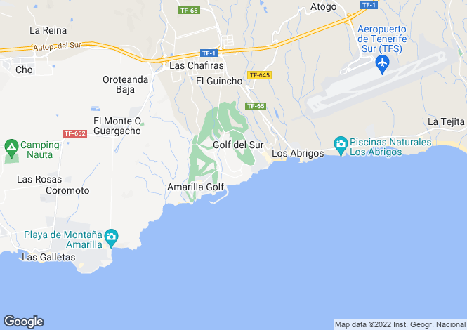 Map for Ocean Golf and Country Club I, Golf Del Sur, Tenerife, Spain