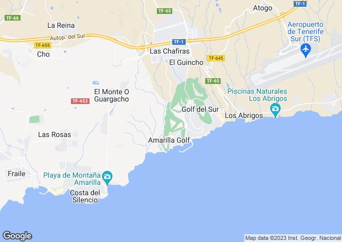 Map for Palm Gardens, Amarilla Golf, Tenerife, Spain