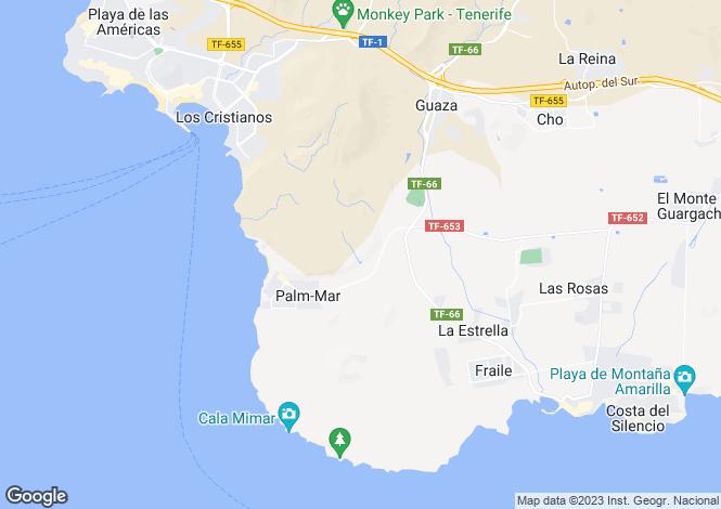 Map for San Blas - Commercial Center, Golf Del Sur, Tenerife, Spain
