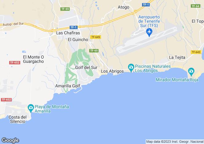 Map for San Blas Village, Golf Del Sur, Tenerife, Spain