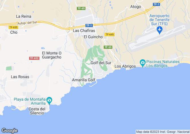 Map for Green Park, El Cid, Golf Del Sur, Tenerife, Spain