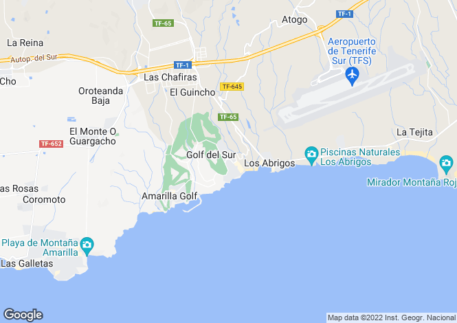 Map for Sand Club, Golf Del Sur, Tenerife, Spain