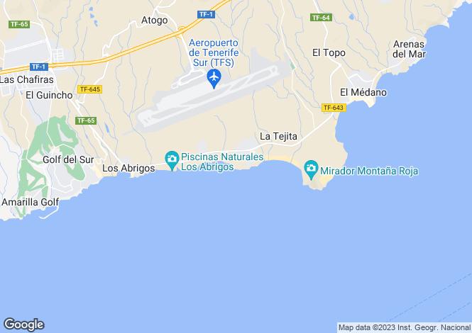 Map for La Mareta, Tenerife, Spain