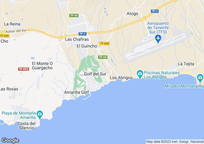 Map for Alamo Park, Golf Del Sur, Tenerife, Spain
