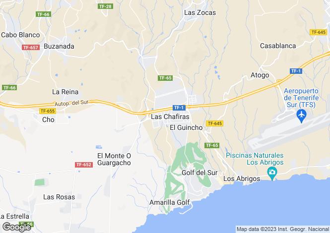 Map for Residencial Malvasia, Las Chafiras, Tenerife, Spain