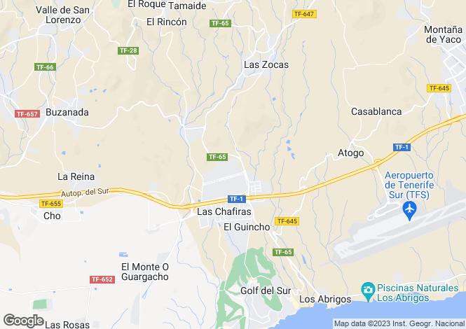 Map for La Concepcion, Llano Del Camello, Tenerife, Spain