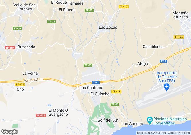Map for Llano Del Camello, Tenerife, Spain