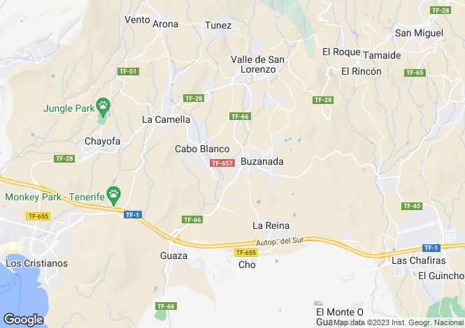 Map for Buzanada, Tenerife, Canary Islands