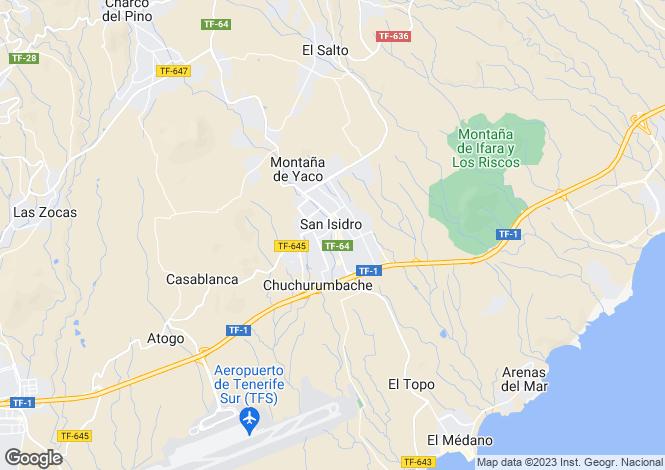 Map for San Isidro, Tenerife, Spain