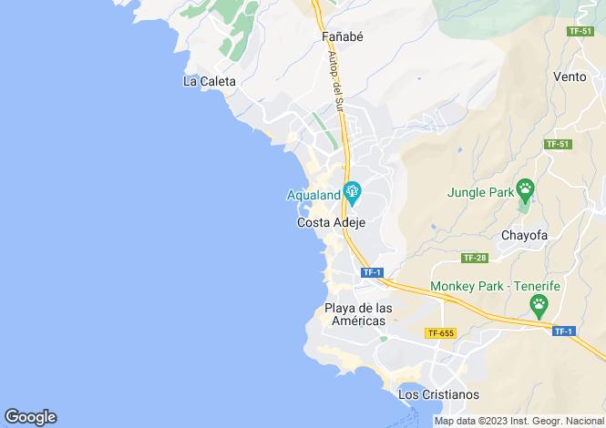 Map for Puerto Colon, Tenerife, Spain