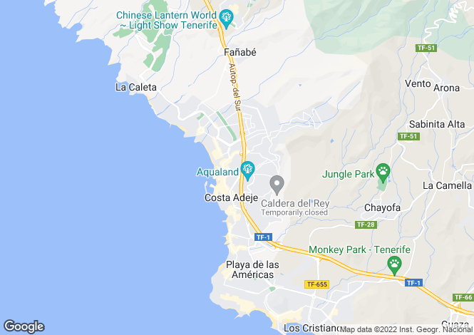 Map for Torviscas Bajo, Tenerife, Canary Islands