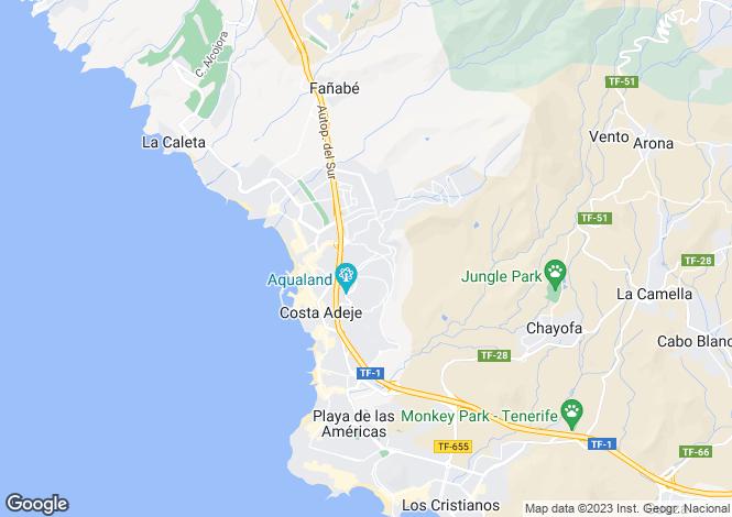 Map for Windsor Park, Torviscas Alto, Tenerife, Spain