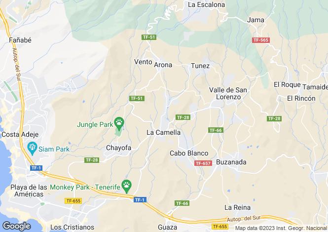 Map for La Sabinita, Tenerife, Spain